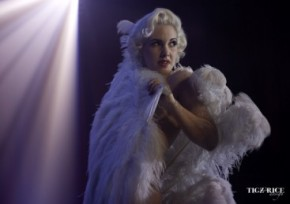 Tigz Rice Burlesque Photography