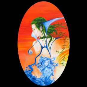 Original painting by TEZART.