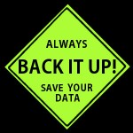 DATA BACK UP!, your website, your way, tezi magazine