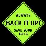 DATA BACK UP!, your website, your way, tezi magazine