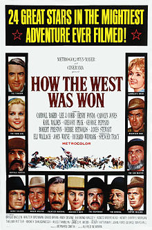 1963 Epic-Western; How The West Was Won